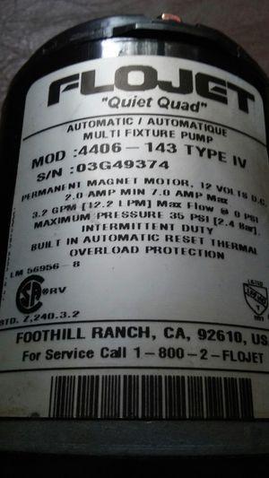 NEW FLOJET pump 4406-143 type IV for Sale in Burlington, WI