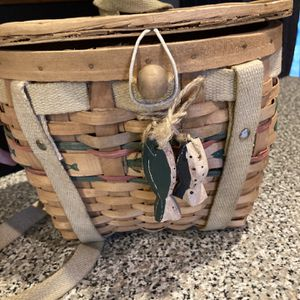 Woven Fishing Tackle Box Backpack for Sale in Atco, NJ