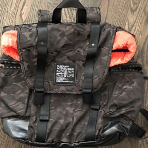 Super dry Black Camo Backpack for Sale in Tampa, FL