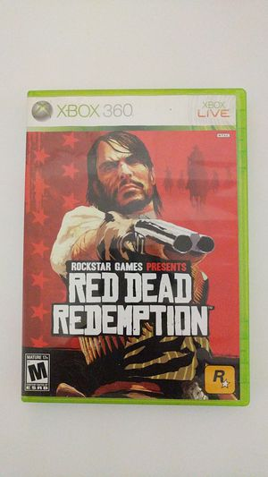 Red dead redemption Xbox 360 for Sale in Tallahassee, FL