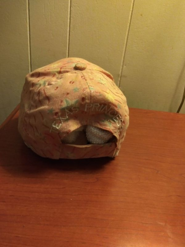 "Light pink ""TEXAS PRINCESS"" hat"