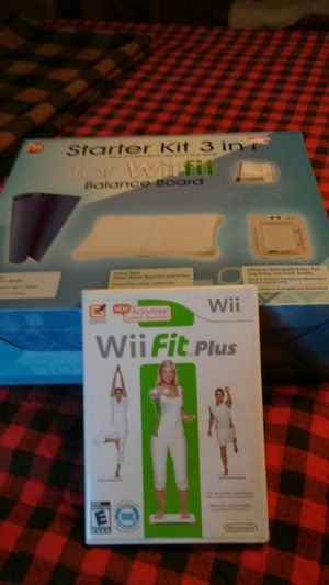 Wii balance board . and game. All new in box.never opened for Sale in Cape Coral, FL