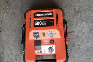 Portable emergency battery and air compressor in one for Sale in Arlington, WA