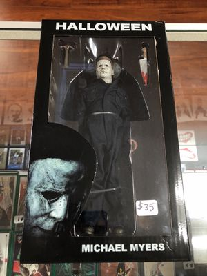 "Michael Myers Halloween Real Cloth NECA Reel Toys 7"" Inch for Sale in La Habra Heights, CA"