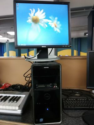 Dell desktop computer with 20 inch LCD display for Sale in Washington, DC