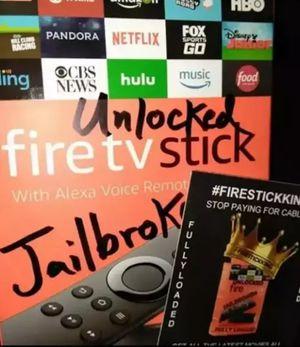 FireTvStick MEGA20 FULLY-LOADED for Sale in Houston, TX