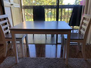Delta wooden Kids table with chairs for Sale in Boca Raton, FL