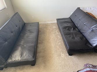 Leather Futons 2 for Sale in Bellevue,  WA