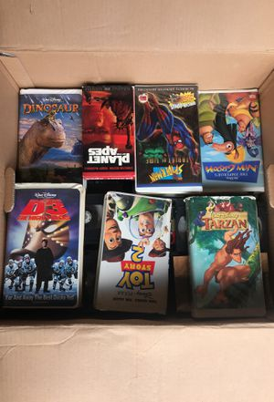 VHS movies for Sale in Mesquite, TX