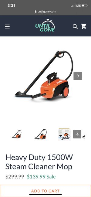 Steam cleaner mop for Sale in Buena Park, CA