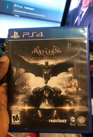 Batman Arkham Knight and Uncharted Nathan Drake collection for Sale in Houston, TX