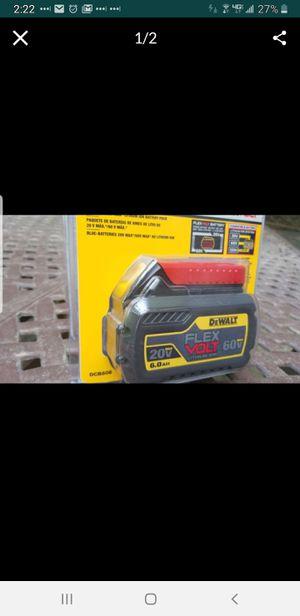 DeWalt Flexvolt battery 6 amp BRAND NEW for Sale in Montvale, NJ