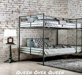 Queen over Queen Bunk Bed for Sale in Ontario,  CA
