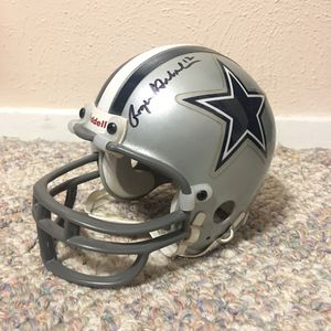 ROGER STAUBACH SIGNED HELMET for Sale in Saginaw, TX