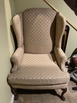 Queen Anne Wingback Chair for Sale in PA, US