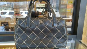 CHANEL WILD STITCH TAN TOTE BAG for Sale in Queens, NY