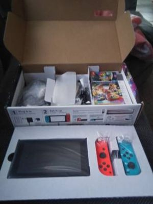 Nintendo switch with game new for Sale in Pine River, MN