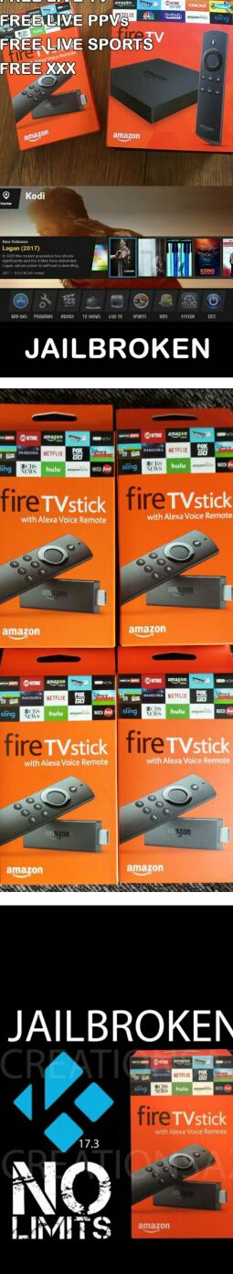 Unlocked Amazon Fire TV Stick Firestick Fully Loaded!!! W Kodi and Live TV - Better than Android TV Boxes!! for Sale in Las Vegas, NV
