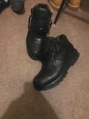 All black nike goadome boots for Sale in Washington, DC