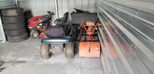Mowers,tiller, rv stuff- vents-bbq-escape windows-awning legs for Sale in Nampa, ID