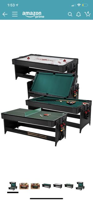 Pool table, air hockey, ping pong 3-in-1 for Sale in Lomita, CA