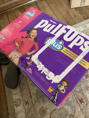 Huggies Plus Pull Ups size 4T-5T (102 count) Minnie & Toy Story in NORTH HILLS for Sale in Los Angeles, CA