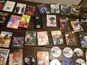 Movies and original xbox games for Sale in Palmdale, CA