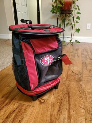 SF NFL rolling cooler for Sale in Madera, CA