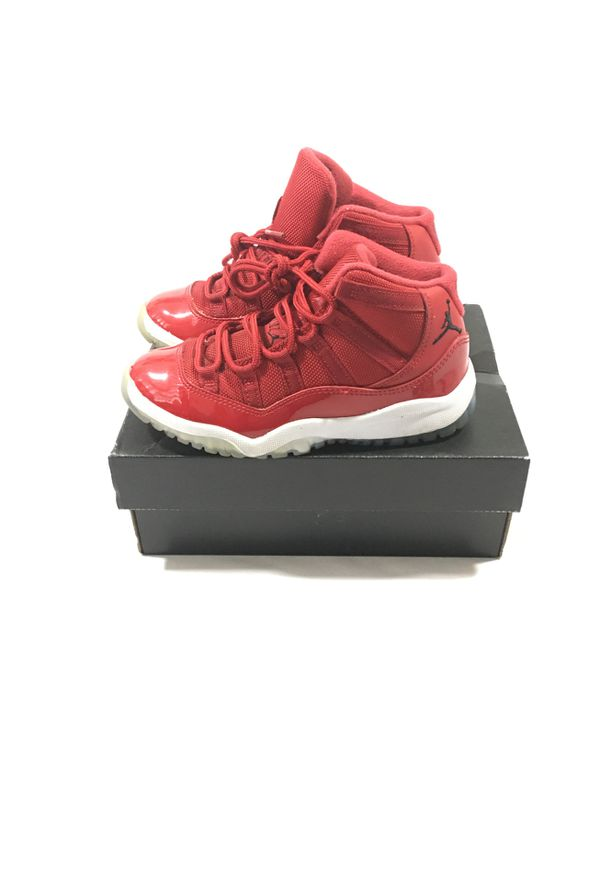 Jordan 11 gym red patent leather size 13c