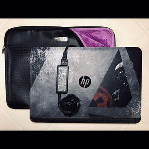 HP • LAPTOP •1 Tb Hd • 6 Gb Ram w/ CASE • Star Wars Special Edition • for Sale in Oakland Park, FL