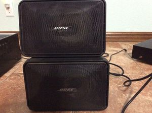 Bose 101 Music Monitor pair for Sale in Buda, TX