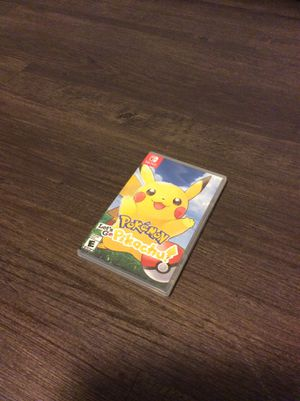 Pokémon Let's Go Pikachu for Sale in Puyallup, WA