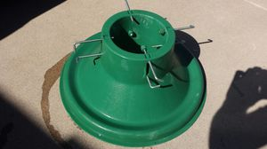 Christmas Tree Stand Heavy Duty Live Tree Holds Water for Sale in Scottsdale, AZ