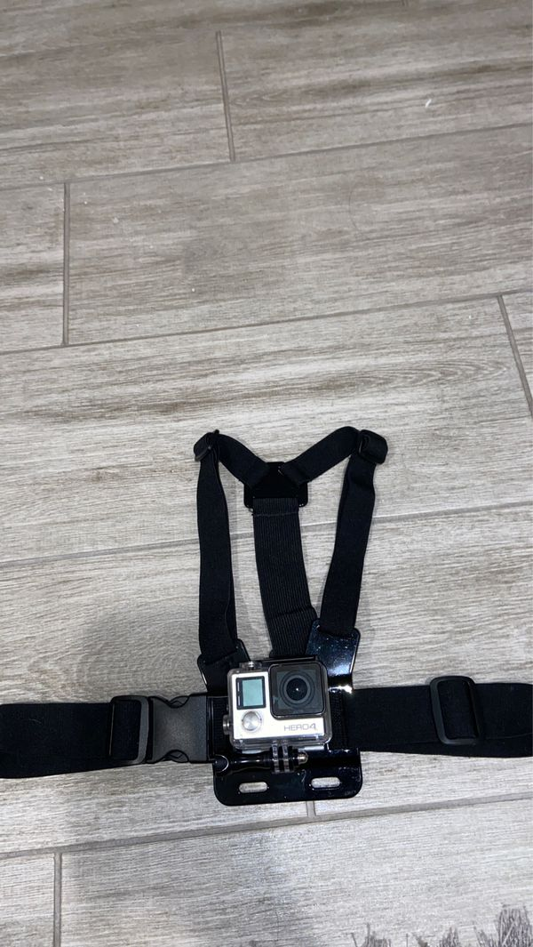 GoPro Hero 4 with accessories