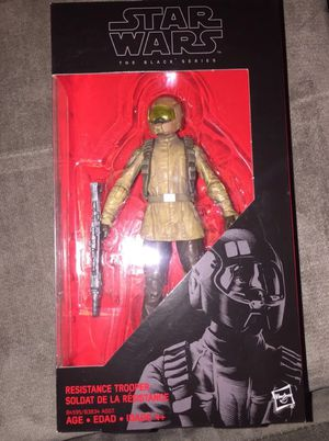 Black series 6 inch Resistance Trooper for Sale in San Diego, CA