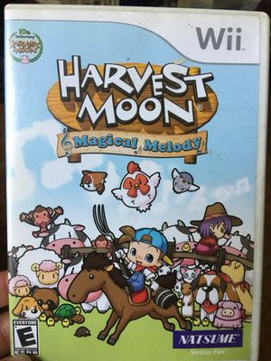 Harvest Moon: Magical Melody (Wii) for Sale in Fairfax, VA