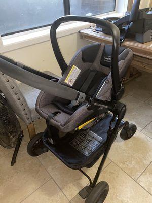 Evenflo car seat and Stroller set for Sale in Atlanta, GA