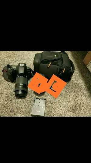 Canon 60D with one lens 18-135mm for Sale in Hawthorne, CA