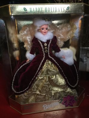 Barbie Christmas 1996 Happy Holidays Special Edition $100 or OB for Sale in Pittsburgh, PA