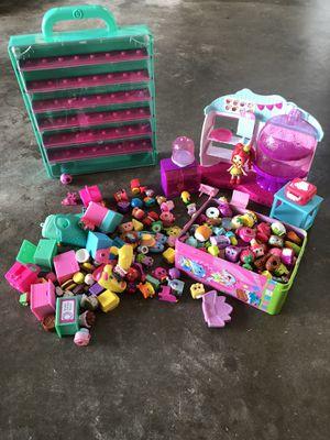 Over 200 shopkins + doll+ bakery + holder for Sale in Tamarac, FL