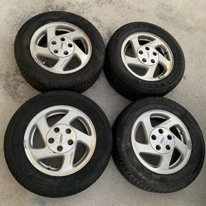 215/60R15 Wheels - Rims and Tires 90% Tread for Sale in Fort Myers, FL