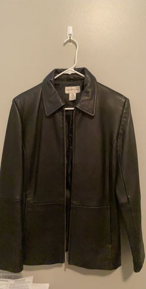 Women's genuine leather jacket - small, fits like medium for Sale in Chicago, IL