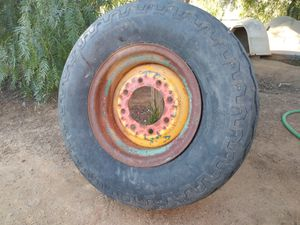 Backhoe tire and rim for Sale in Perris, CA