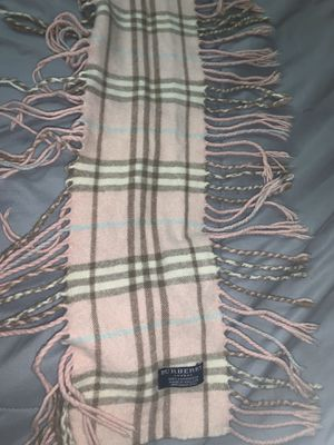 Burberry cashmere scarf 🧣 $300 for Sale in Covina, CA