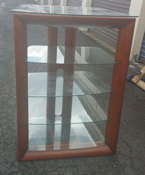 TV stand NEGOTIABLE for Sale in Manassas, VA