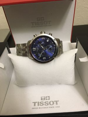 Tissot PRS 200 T055.417.11.047.00 Blue men's watch for Sale in Grand Prairie, TX