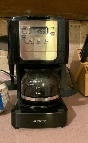 Mr. Coffee 5-Cup Programmable Coffee Maker for Sale in Boston, MA