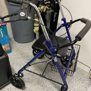 Walker With Seat And Basket for Sale in Newington, CT