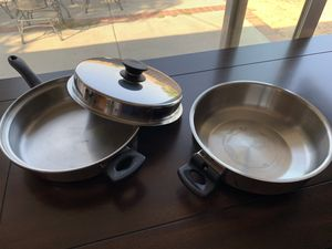 Cook pots and pans for Sale in Monterey Park, CA