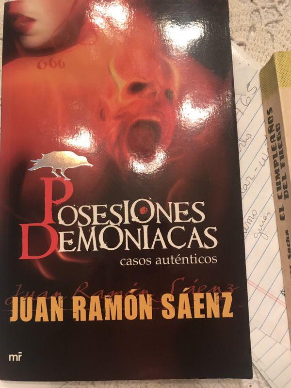 Books posesiones Demoníacas y novela El cumpleaños del Fuego by Francisco López Sacha